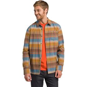 Prana Wyndwell Flannel Shirt Herre driftwood